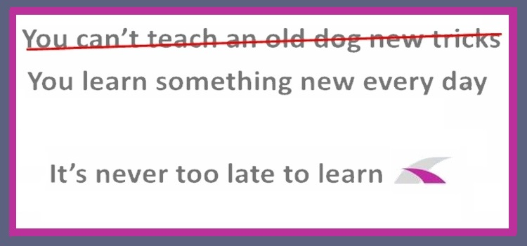It's never too late to learn how to teach